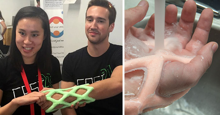 Engineers Create A Breathable And Waterproof Cast To Replace Plaster Ones And Stop The Itching Forever