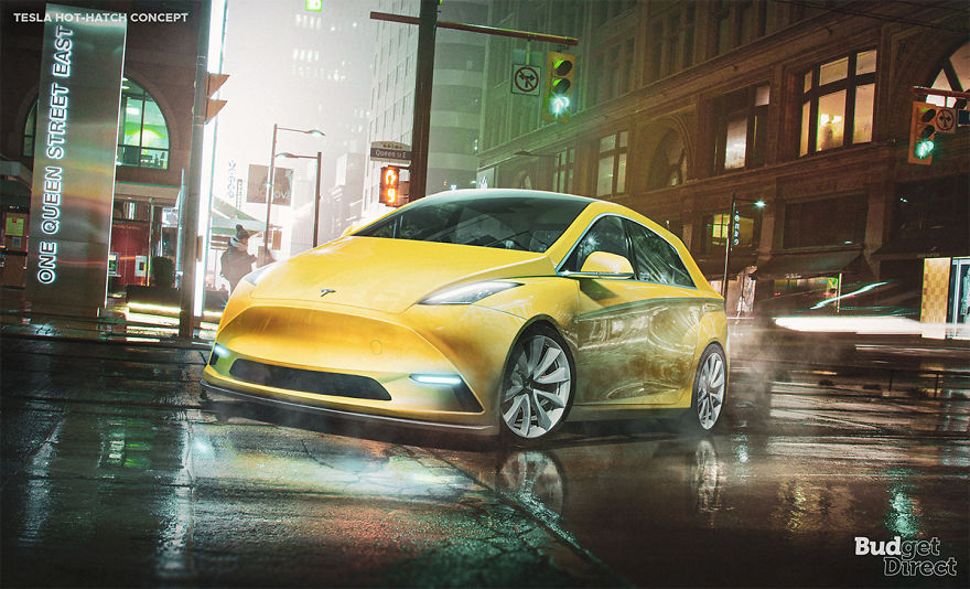 Hot Hatch 2020 tesla concept vehicles