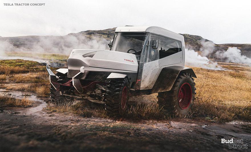 Tractor 2020 tesla concept vehicles