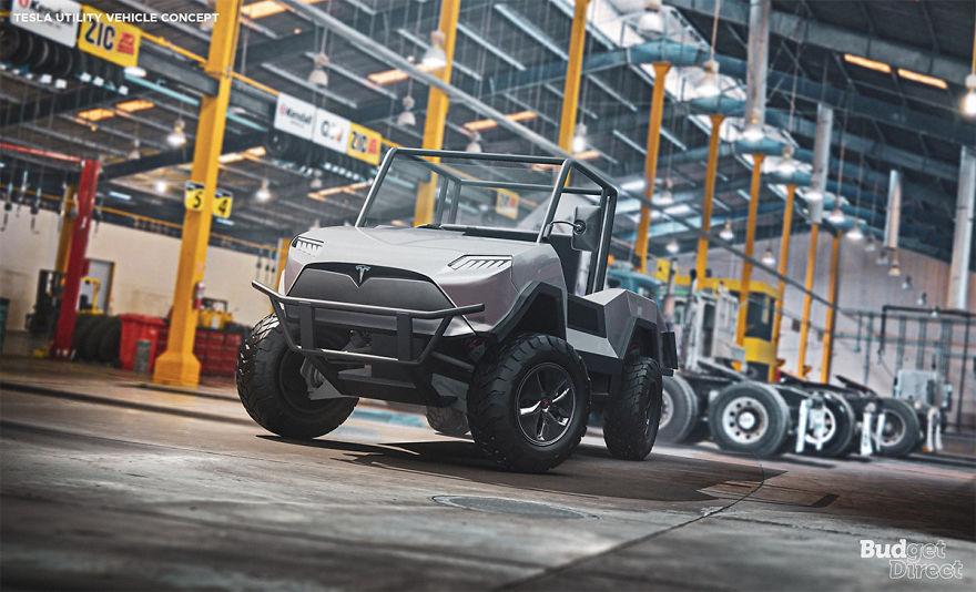 Utility Vehicle 2020 tesla concept vehicles