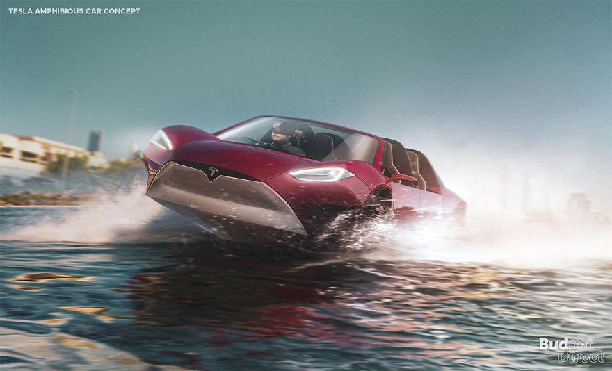 Amphibious Car 2020 tesla concept vehicles
