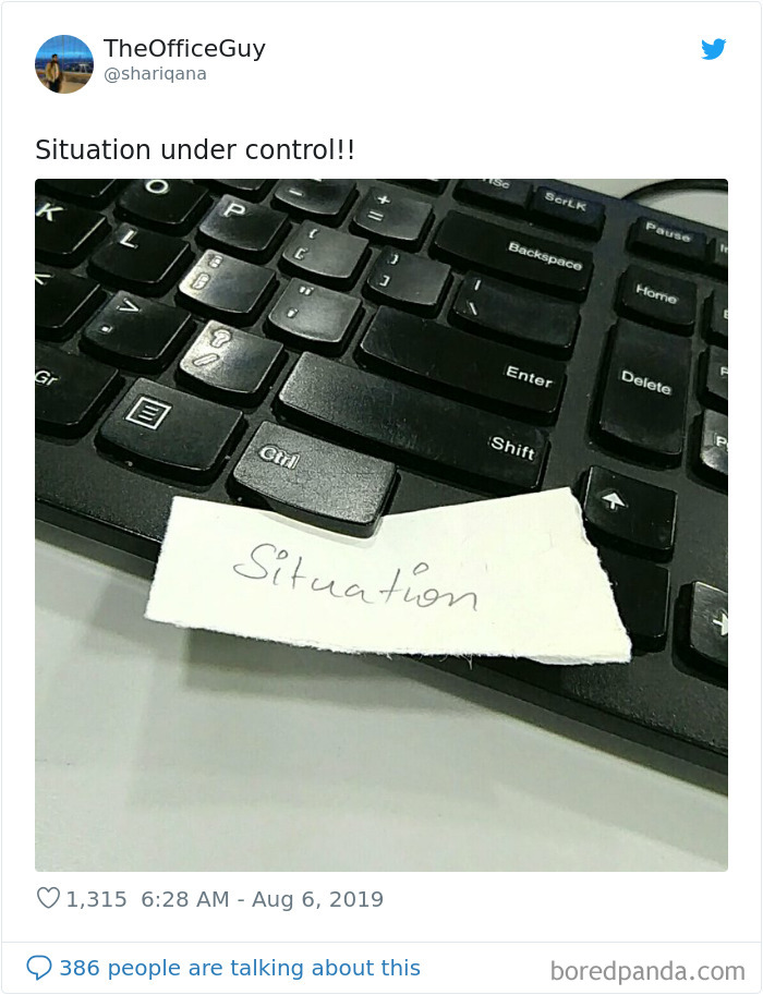 Situation Is Under Control