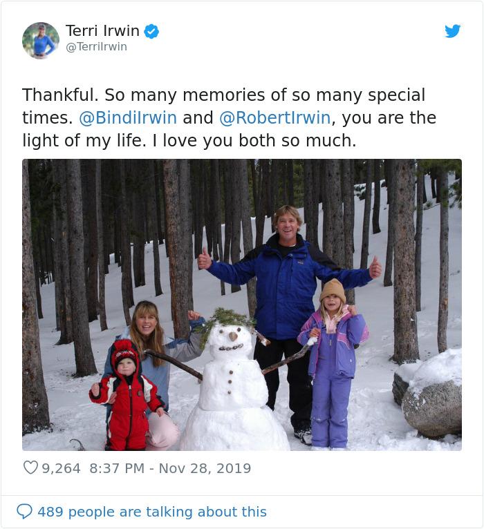 Terri Irwin Shares Unseen Family Photos On Her Son Robert's 16th Birthday