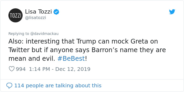 Trump Mocks Greta Thunberg For Being Time's Person Of The Year, So She Changes Her Twitter Bio