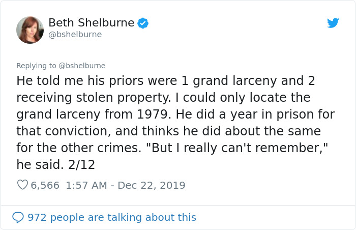 This Man Has Been In Prison For The Past 38 Years Since He Was Sentenced To Life For Stealing $9 In 1982