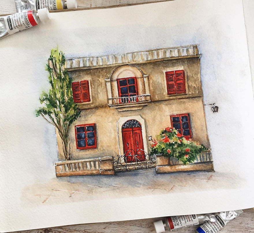 A House From Mdina