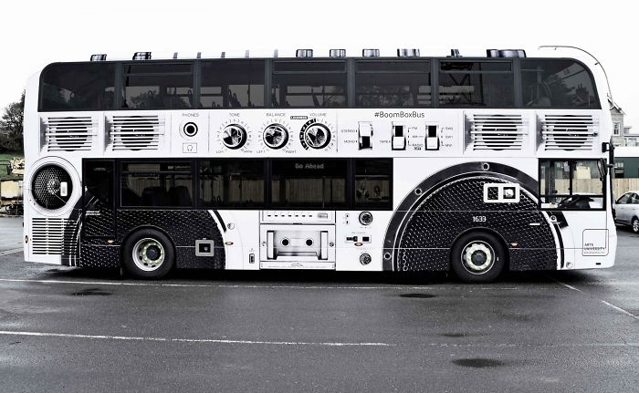 Arts University Bournemouth: Boombox Bus