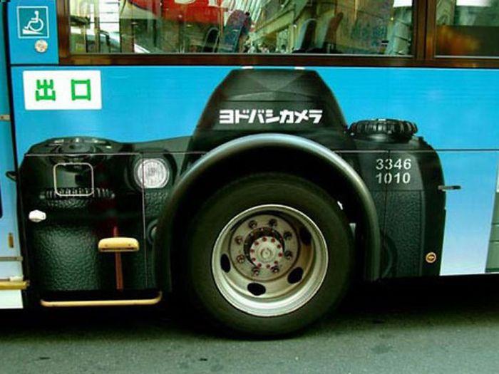 Canon's Bus Ad