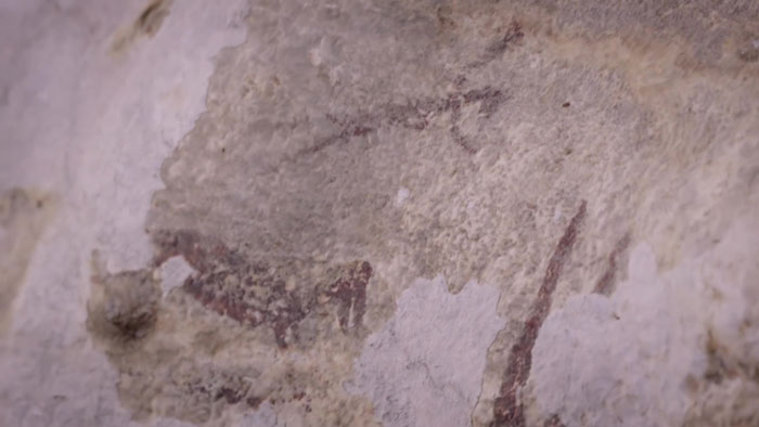 The Newly Discovered 44,000 Y.O. Animal Cave Paintings Tell The Oldest Story On Earth