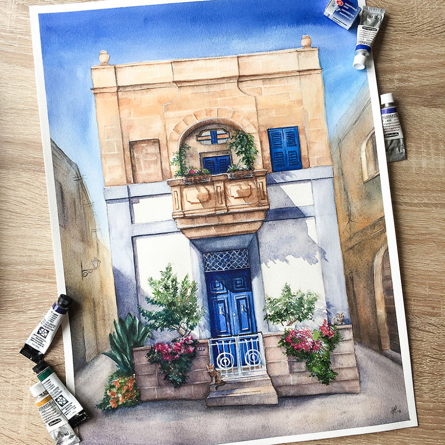A House With A Story In Żurrieq