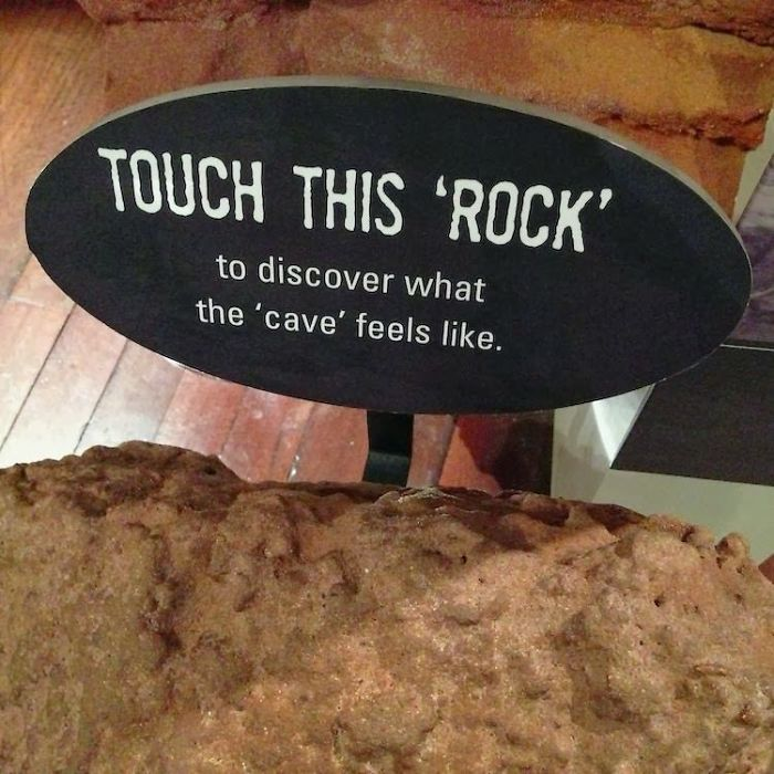 I'd Rather Not Touch The 'Rock', Thanks