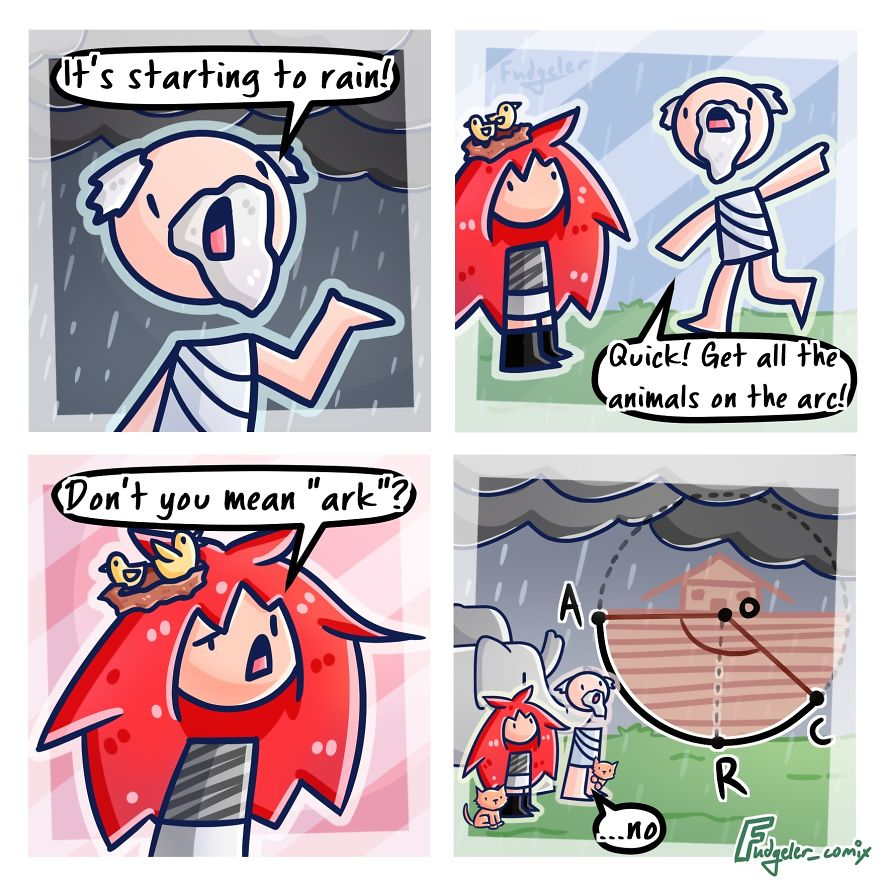 I Turn My Random Thoughts Into Comics
