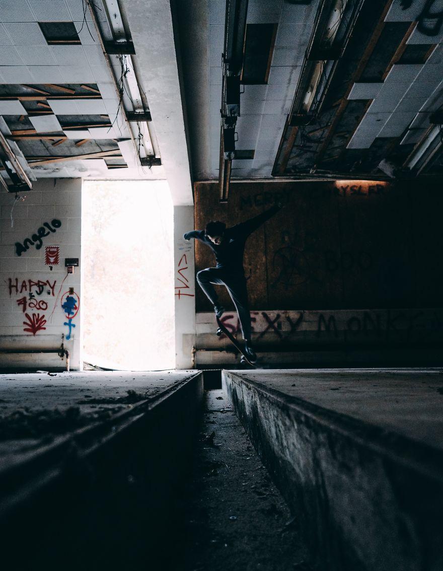 Abandoned Skating