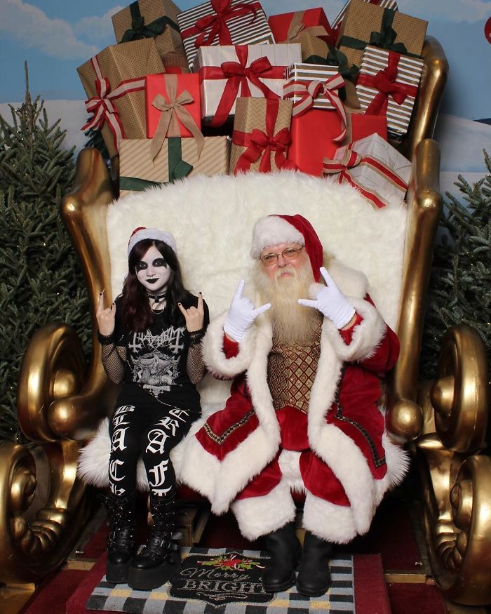Holiday Shopping Can Put A Smile On Even The Most Kvlt Person In Your Life! What's Your Favorite Holiday Tradition?