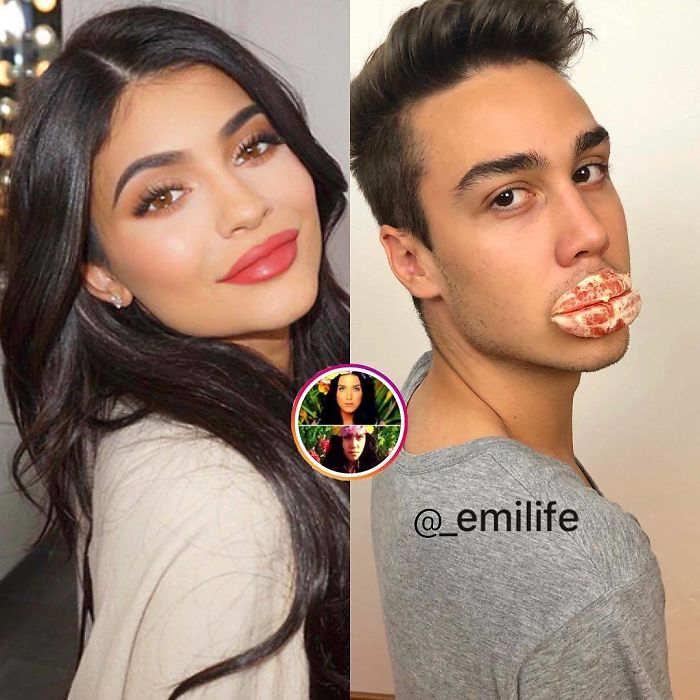 """This Guy Gained Thousands Of Followers On Instagram """"Recreating"""" Celebrity Photos (New Pics)"""