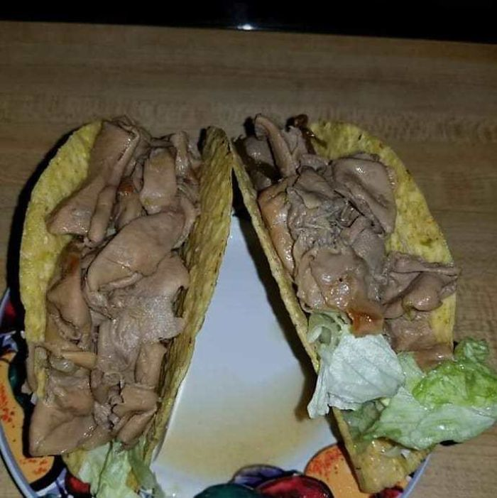 The Comment Said That These Are Chitterling Tacos. Hell Naw