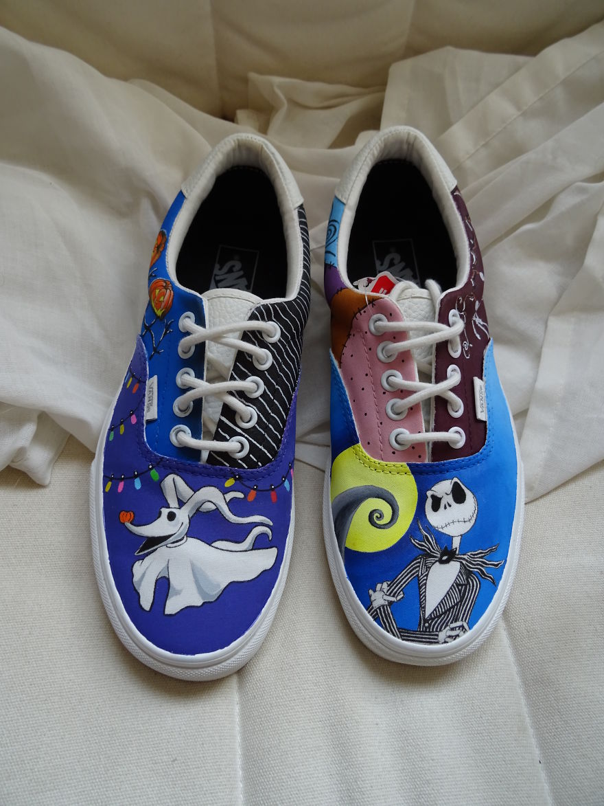 Nightmare Before Christmas Vans Shoes
