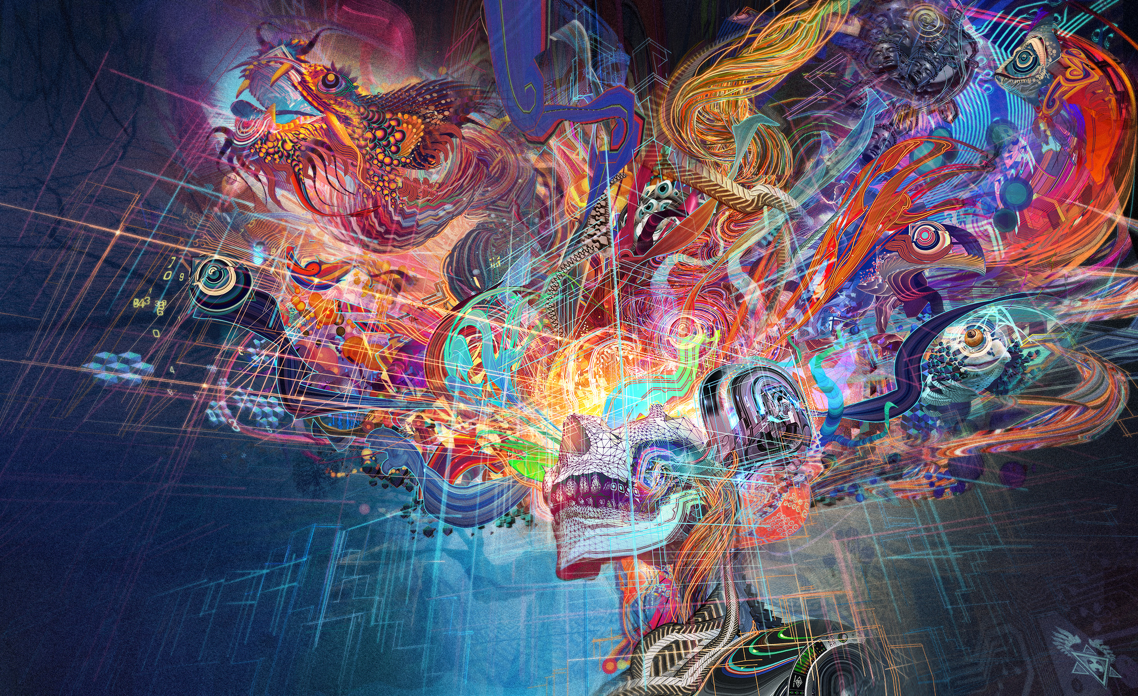 20 Mind Melting Artworks By Visionary Arts Pioneer Android Jones