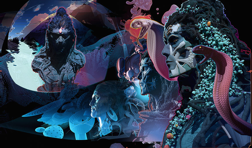 20 Mind Melting Artworks By Visionary Arts Pioneer, Android Jones