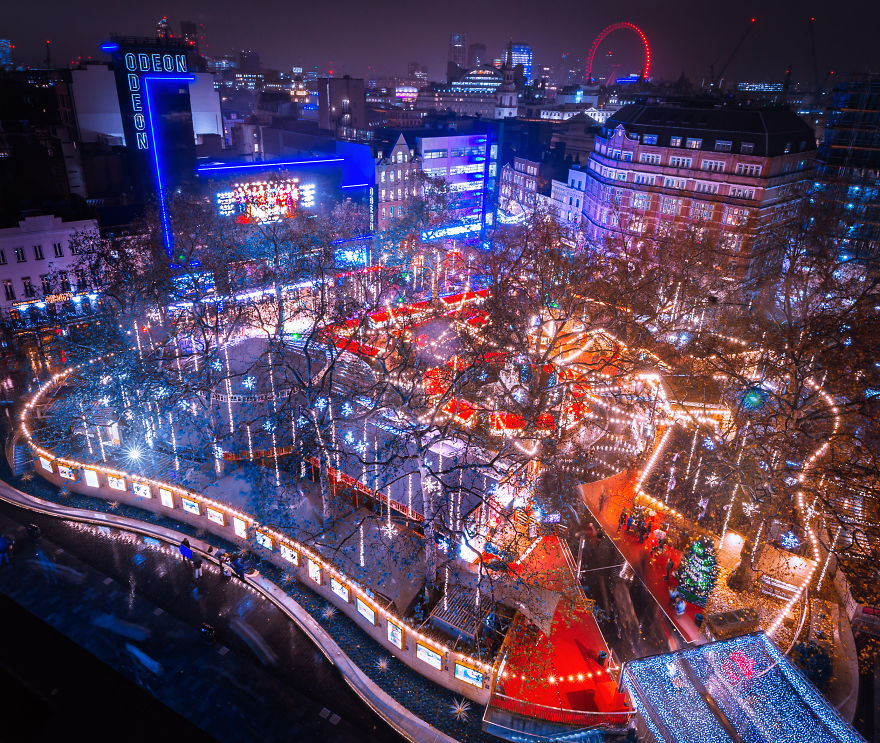 I Photographed The Amazing Christmas Lights In London