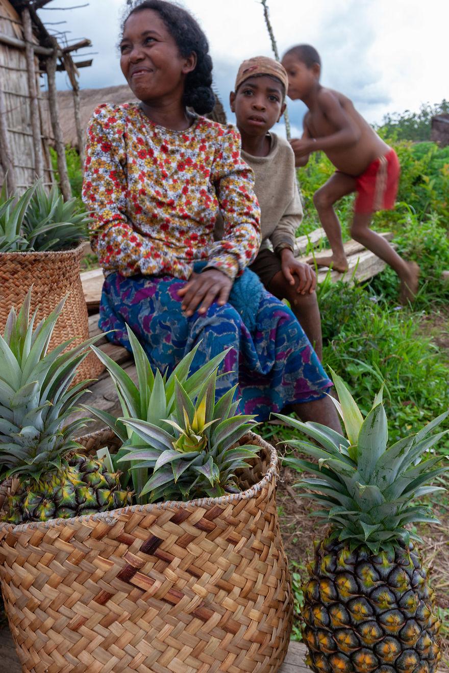 Family In The Remote Village