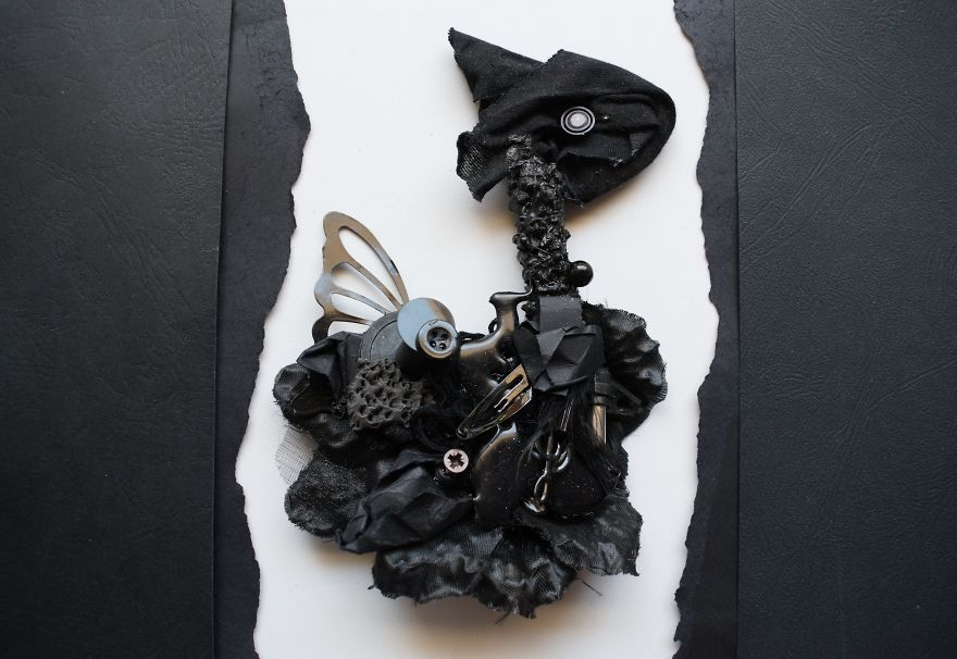 I Made These 6 Animal Sculptures By Mixing Recycled Materials