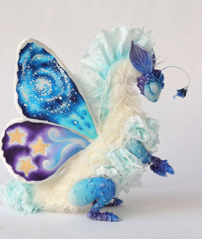 I Make Customizable Flower Butterfly Dragons