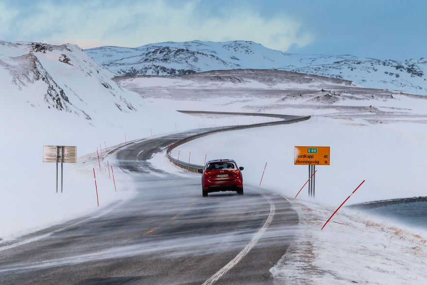 Road To Nordkapp, Norway