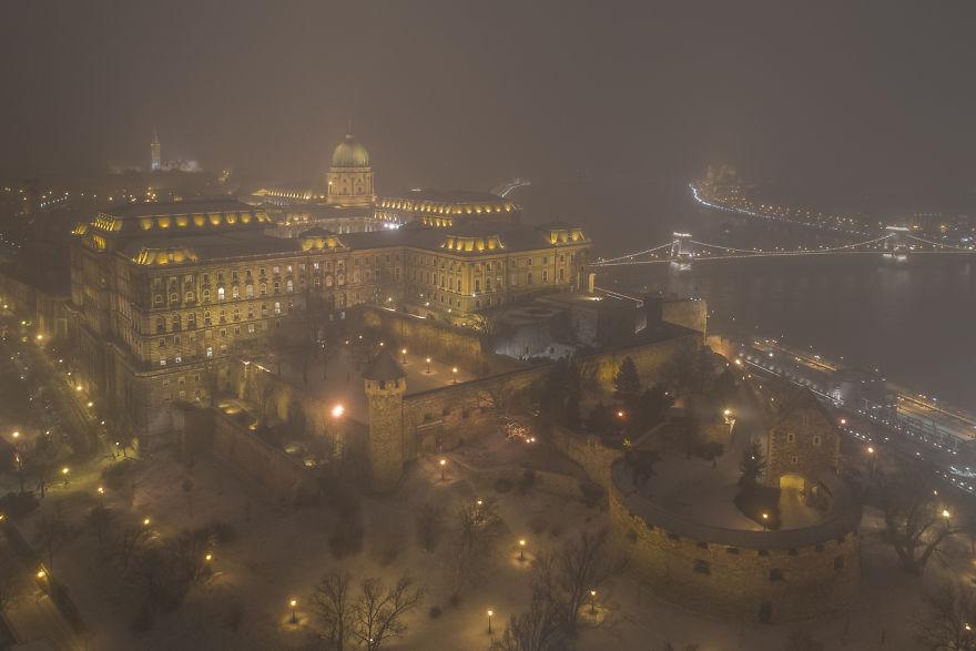 Lights In Haze