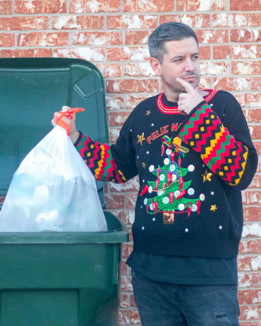 The Versatile Sweater That Looks Just As Good Taking Out The Garbage As It Does At The Formal Holiday Party