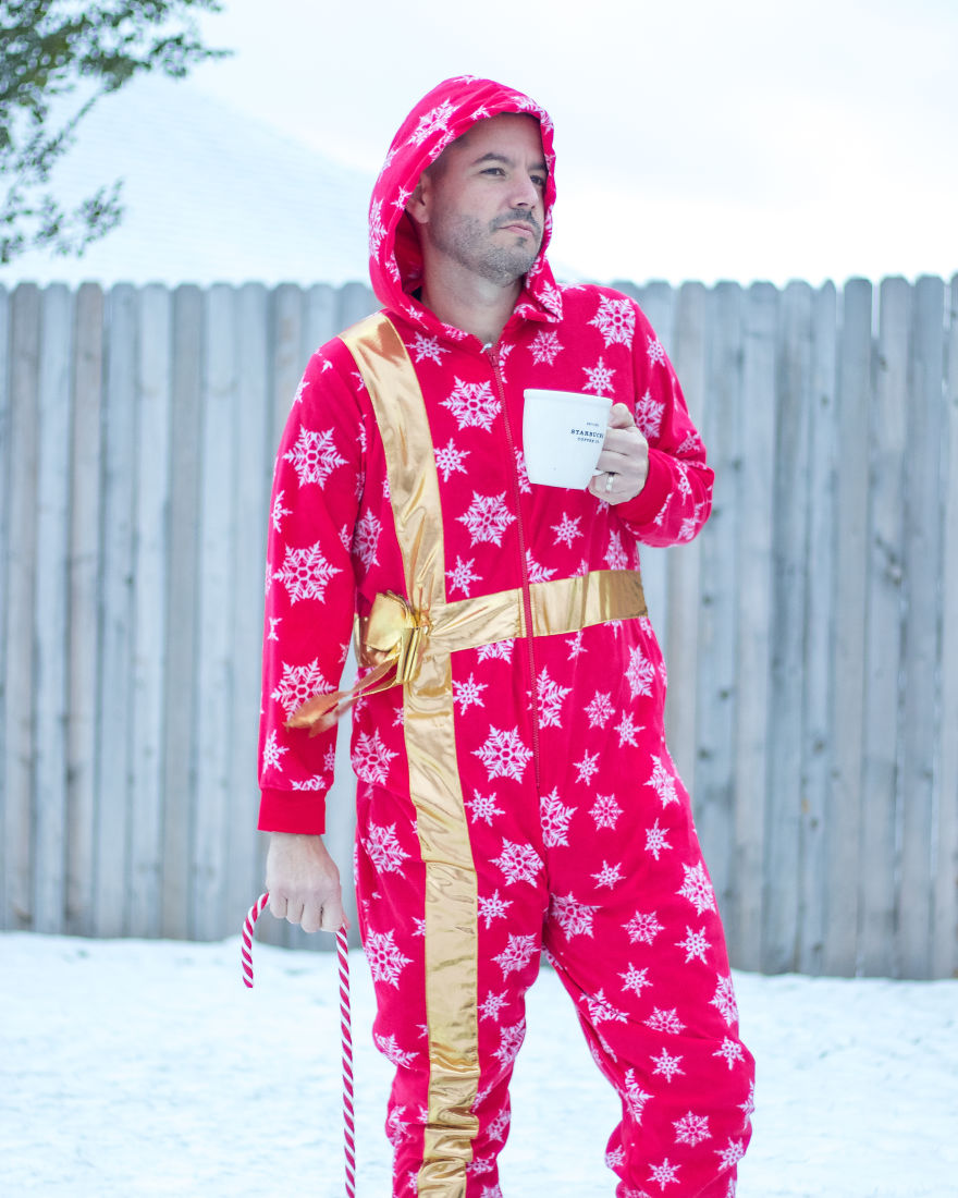 The Perfect Onesie For A Night Out Or Pondering The Mysteries Of The North Pole