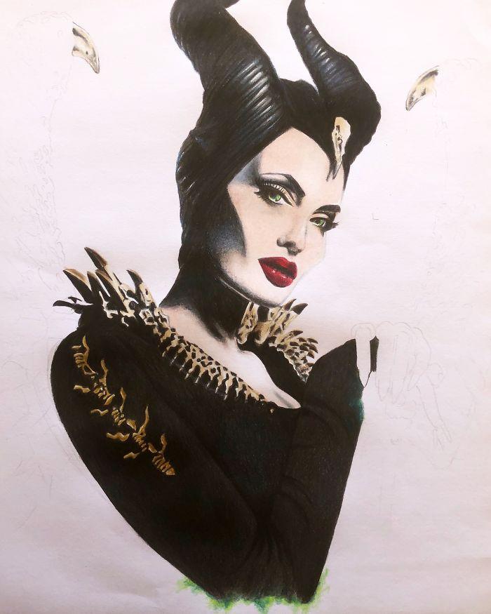 Maleficent Work In Progress