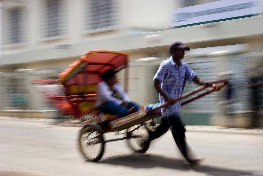 Pousse-Pousse Rickshaw