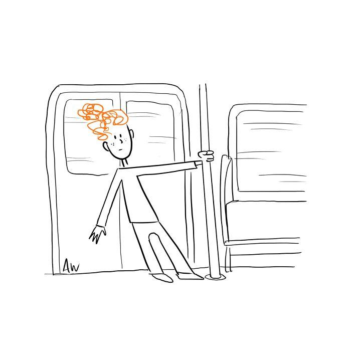 I Create Little Red Cartoons