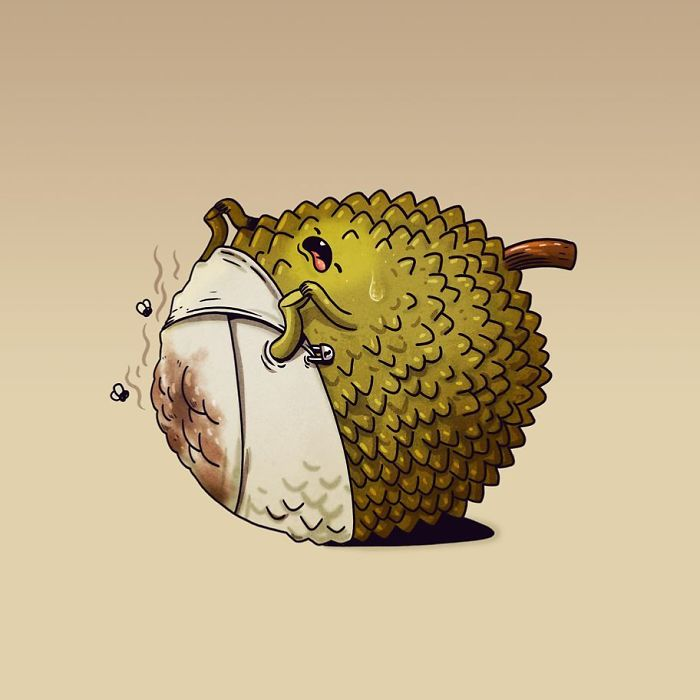 What Fruit And Vegetables Would Do If They Were Alive( 30 Pics By Alex Solis)