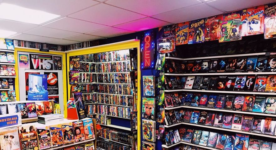 Guy Builds A VHS 'Store' In His Basement And It Might Give You Nostalgia (16 Pics)