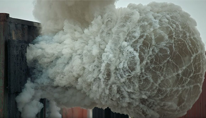 This Is How A Backdraft Looks In Slow Motion, And It's Terrifying