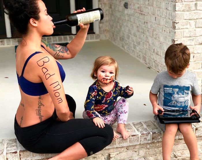 "Woman Lists Down Reasons Why She's Been Called A ""Bad Mom"" In A Viral Post"