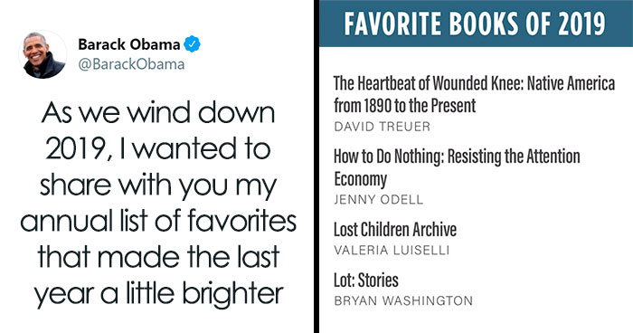 Barack Obama Lists Best Books And Movies Of 2019, Goes Viral On Twitter