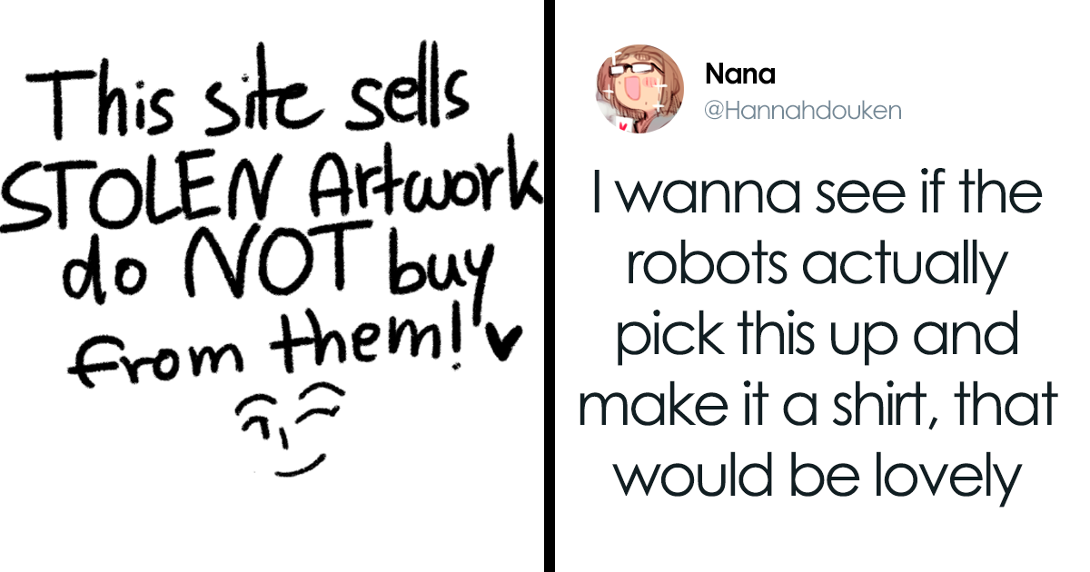 Twitter Artists Trick Bots Stealing Their Art Into Selling Revenge T-Shirts