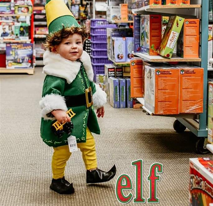 We Dress Our Kid Up In 12 Christmas Costumes