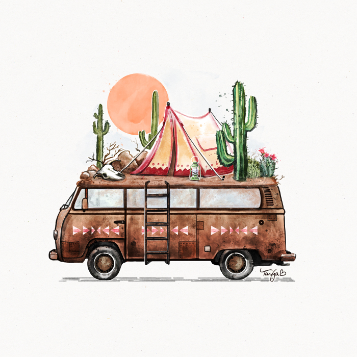 I Paint Adventure Vans And Nomadic Homes