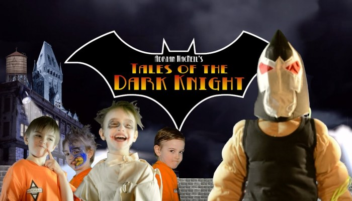 I Made A Batman Fan Film Staring My 6-Year-Old Son, Then Held A World Premiere At The Local Cineplex