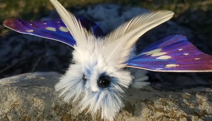 Artist Creates Moths And Birds So Lifelike And Whimsical It Changes Your View On Reality