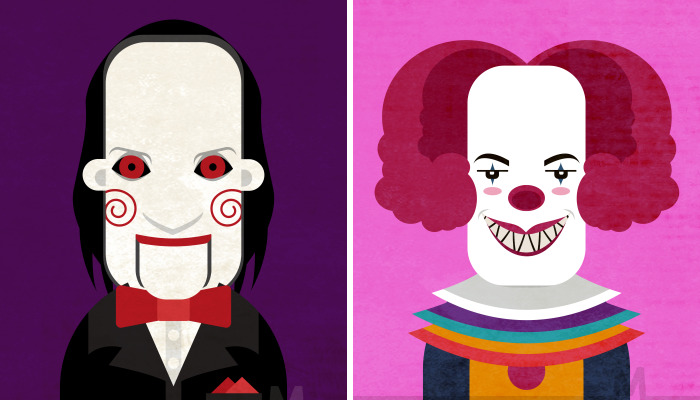 I Made Digital Illustrations Of My Favorite Horror Movie Characters