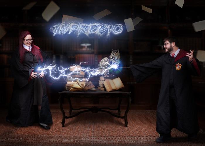 Our Epic Harry Potter Pregnancy Announcement