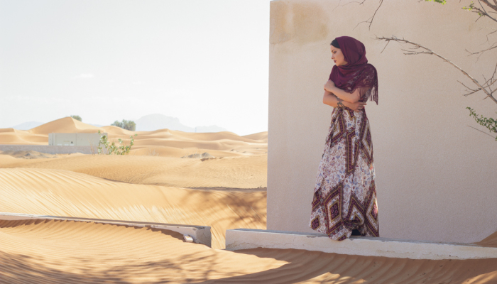 I Explored The Haunted, Abandoned Al Madam Ghost Town In The United Arab Emirates