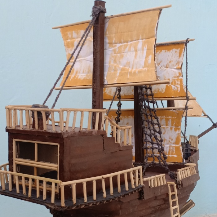 I Made This Pirate Ship Using Cardboard