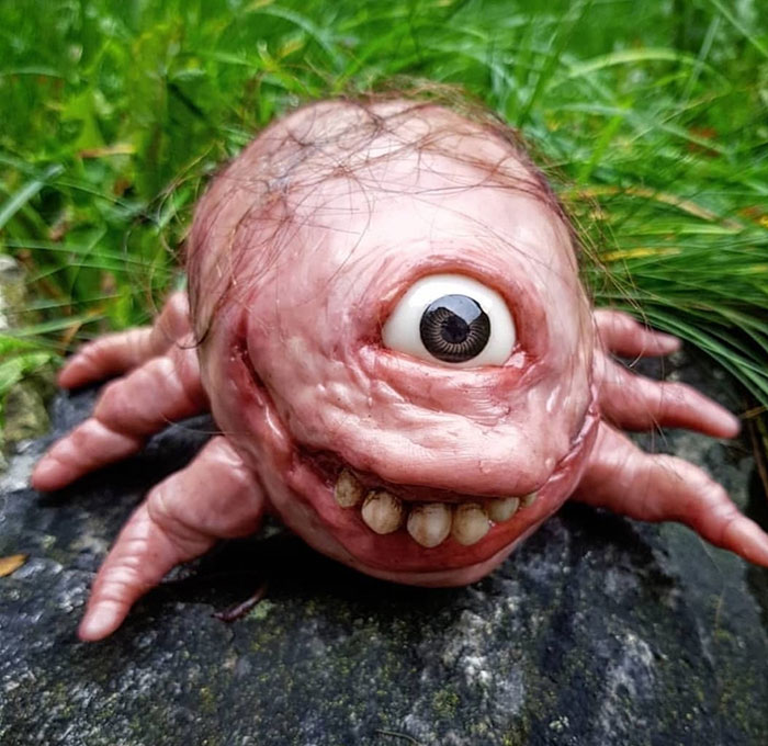 I Create Gross And Creepy Sculptures From Polymer Clay (Warning: This Content May Disturb You)