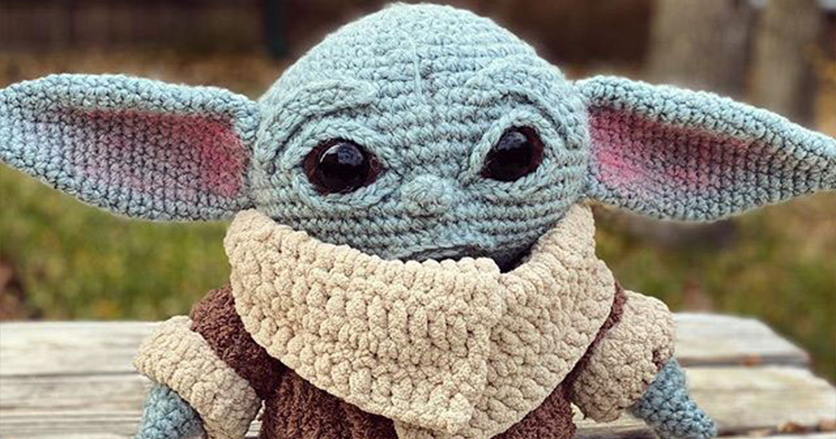 Woman Crochets Baby Yoda And The Force Is Definitely With It
